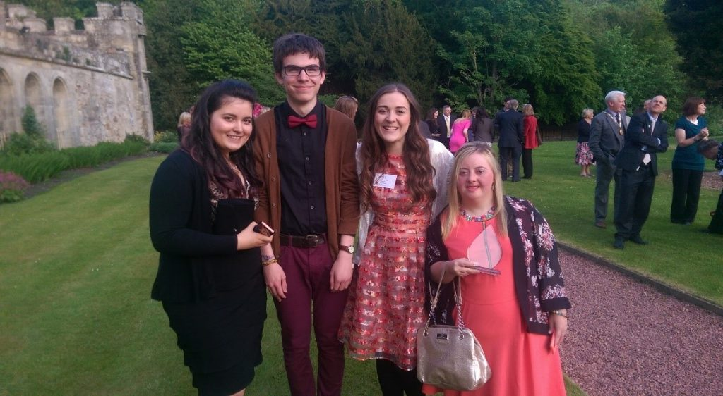 Volunteer Awards at Newbattle Abbey College